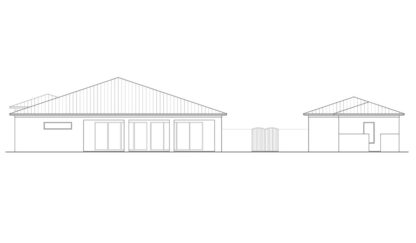 Capeside Rear Elevation