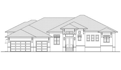 Oyster Bay Front Elevation