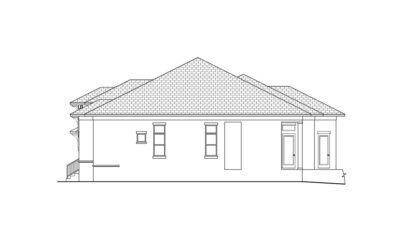 Oyster Bay Right Elevation