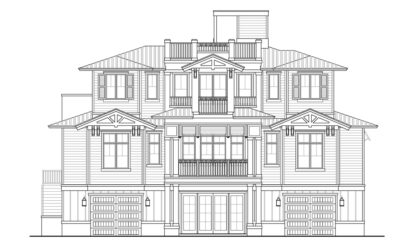St. Lucia Front Elevation