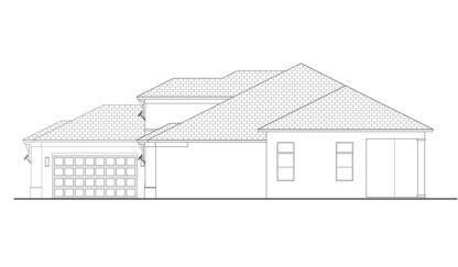 Amherst Right Elevation