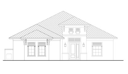 Bequia Front Elevation