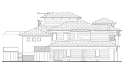 Chesterfield Left Elevation