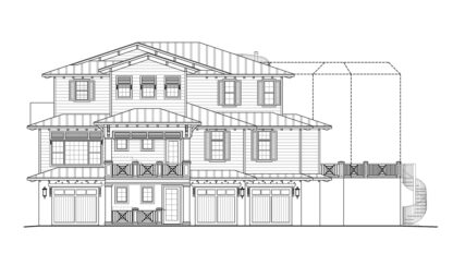 Dominica Front Elevation