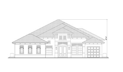 Marque II Front Elevation