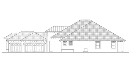 Marque Right Elevation
