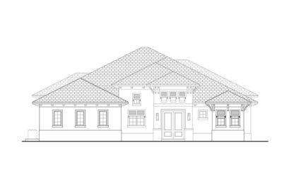 Smugglers Cove II Front Elevation