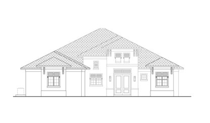 Smugglers Cove Front Elevation