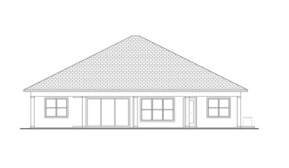 Smugglers Cove Rear Elevation